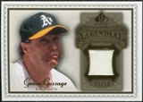 2009 Upper Deck SP Legendary Cuts Legendary Memorabilia Brown #GG2 Goose Gossage /50