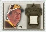 2009 Upper Deck SP Legendary Cuts Legendary Memorabilia Brown #GP4 Gaylord Perry /50