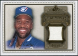 2009 Upper Deck SP Legendary Cuts Legendary Memorabilia Brown #JC Joe Carter /50