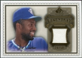 2009 Upper Deck SP Legendary Cuts Legendary Memorabilia Brown #JC2 Joe Carter /50