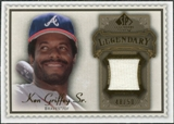 2009 Upper Deck SP Legendary Cuts Legendary Memorabilia Brown #KG Ken Griffey Sr. /50