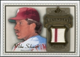 2009 Upper Deck SP Legendary Cuts Legendary Memorabilia Brown #MS Mike Schmidt /50