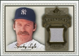2009 Upper Deck SP Legendary Cuts Legendary Memorabilia Brown #SL2 Sparky Lyle /50