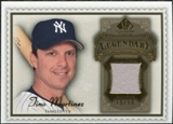 2009 Upper Deck SP Legendary Cuts Legendary Memorabilia Brown #TM2 Tino Martinez /50