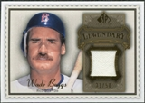 2009 Upper Deck SP Legendary Cuts Legendary Memorabilia Brown #WB Wade Boggs /50