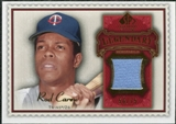 2009 Upper Deck SP Legendary Cuts Legendary Memorabilia Red #CA Rod Carew /75