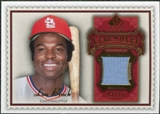 2009 Upper Deck SP Legendary Cuts Legendary Memorabilia Red #LB Lou Brock /75