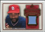 2009 Upper Deck SP Legendary Cuts Legendary Memorabilia Red #OS2 Ozzie Smith /75