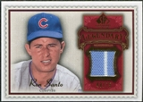 2009 Upper Deck SP Legendary Cuts Legendary Memorabilia Red #SA2 Ron Santo /75