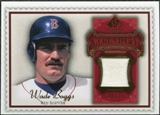 2009 Upper Deck SP Legendary Cuts Legendary Memorabilia Red #WB2 Wade Boggs /75