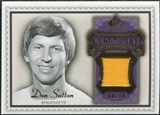 2009 Upper Deck SP Legendary Cuts Legendary Memorabilia Violet #DS2 Don Sutton /25