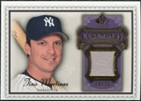 2009 Upper Deck SP Legendary Cuts Legendary Memorabilia Violet #TM2 Tino Martinez /25