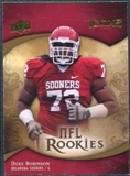 2009 Upper Deck Icons #129 Duke Robinson /599