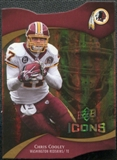 2009 Upper Deck Icons Gold Holofoil Die Cut #12 Chris Cooley /75