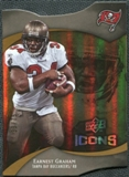 2009 Upper Deck Icons Gold Holofoil Die Cut #44 Earnest Graham /75