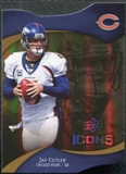 2009 Upper Deck Icons Gold Holofoil Die Cut #59 Jay Cutler /75