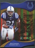 2009 Upper Deck Icons Gold Holofoil Die Cut #93 Bob Sanders /75