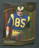 2009 Upper Deck Icons Gold Holofoil Die Cut #172 Jack Youngblood /25