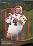 2009 Upper Deck Icons Gold Holofoil Die Cut #178 Ken Anderson /25