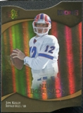 2009 Upper Deck Icons Gold Holofoil Die Cut #185 Jim Kelly /25