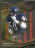 2009 Upper Deck Icons Gold Holofoil Die Cut #189 Mike Singletary /25