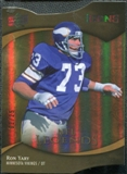 2009 Upper Deck Icons Gold Holofoil Die Cut #192 Ron Yary /25