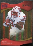 2009 Upper Deck Icons Gold Holofoil Die Cut #110 P.J. Hill /50