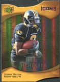 2009 Upper Deck Icons Gold Holofoil Die Cut #113 Jeremy Maclin /50