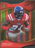 2009 Upper Deck Icons Gold Holofoil Die Cut #125 Michael Oher /50