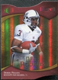 2009 Upper Deck Icons Gold Holofoil Die Cut #127 Derek Pegues /50