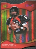 2009 Upper Deck Icons Gold Holofoil Die Cut #137 Graham Harrell /50