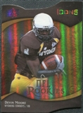 2009 Upper Deck Icons Gold Holofoil Die Cut #144 Devin Moore /50