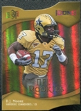 2009 Upper Deck Icons Gold Holofoil Die Cut #147 D.J. Moore /50