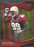 2009 Upper Deck Icons Gold Holofoil Die Cut #152 Everette Brown /50