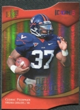 2009 Upper Deck Icons Gold Holofoil Die Cut #153 Cedric Peerman /50