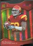 2009 Upper Deck Icons Gold Holofoil Die Cut #155 Rey Maualuga /50