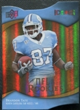 2009 Upper Deck Icons Gold Holofoil Die Cut #156 Brandon Tate /50