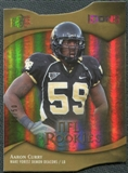 2009 Upper Deck Icons Gold Holofoil Die Cut #157 Aaron Curry /50