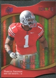 2009 Upper Deck Icons Gold Holofoil Die Cut #160 Marcus Freeman /50