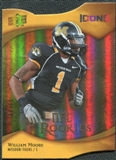 2009 Upper Deck Icons Gold Holofoil Die Cut #165 William Moore /50
