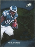 2009 Upper Deck Icons Gold Foil #10 Brian Westbrook /125