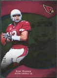 2009 Upper Deck Icons Gold Foil #19 Kurt Warner /125