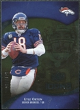 2009 Upper Deck Icons Gold Foil #27 Kyle Orton /125