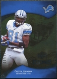 2009 Upper Deck Icons Gold Foil Calvin Johnson /125