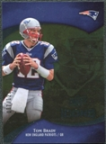 2009 Upper Deck Icons Gold Foil #52 Tom Brady /125