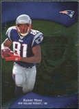 2009 Upper Deck Icons Gold Foil #53 Randy Moss /125
