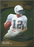2009 Upper Deck Icons Gold Foil #171 Bob Griese /99