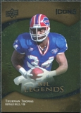 2009 Upper Deck Icons Gold Foil #173 Thurman Thomas /99