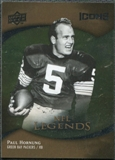 2009 Upper Deck Icons Gold Foil #177 Paul Hornung /99