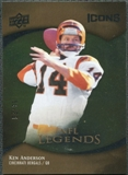 2009 Upper Deck Icons Gold Foil #178 Ken Anderson /99